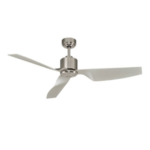 Lucci Air Airfusion Climate II Brushed Chrome 50-Inch DC Ceiling Fan