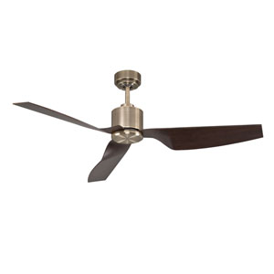 Lucci Air Airfusion Climate II Antique Brass 50-Inch DC Ceiling Fan