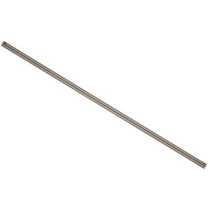 Lucci Air Black 24-Inch Steel Downrod