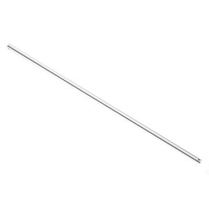 Lucci Air Brushed Chrome 18-Inch Downrod