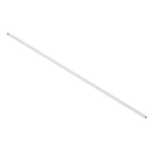 Lucci Air White 24-Inch Steel Downrod