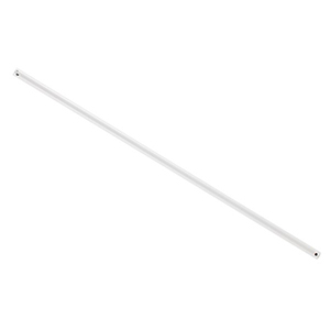 Lucci Air White 36-Inch Downrod