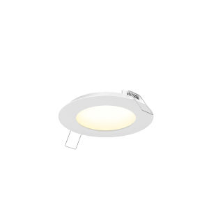 White 11W Five-Inch Round LED Panel Light