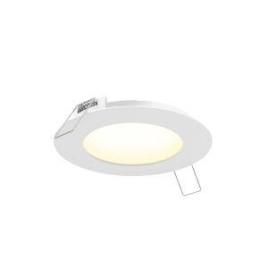 White Seven-Inch Round LED Panel Light