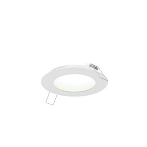 White Five-Inch Round LED Panel Light