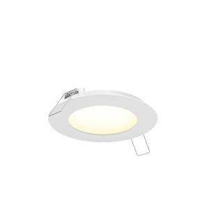 White 14W Seven-Inch Round LED Panel Light