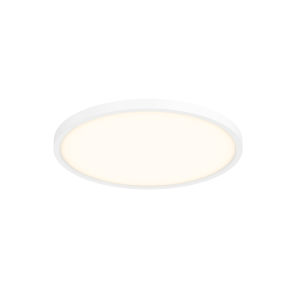 White Nine-Inch LED Flush Mount