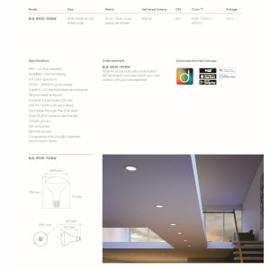 White ADA LED Smart Bulb