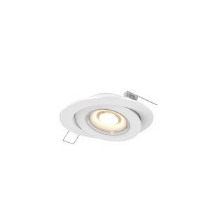 White LED Gimbal Recessed Light