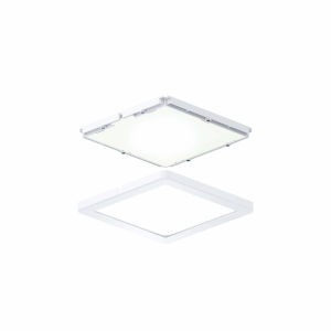White Ultra Slim Square Under Cabinet Puck Lights, Pack of 3