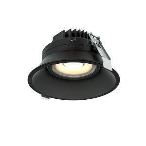 Black Six-Inch ADA LED Gimbal Recessed Light