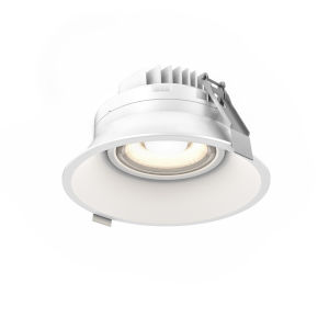 White Six-Inch ADA LED Gimbal Recessed Light