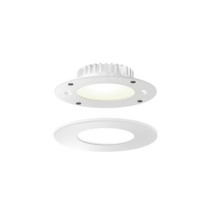White Four-Inch ADA LED Panel Light