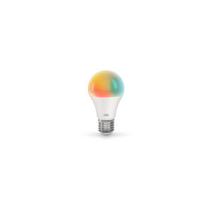 White Smart A19 RGB LED Light Bulb