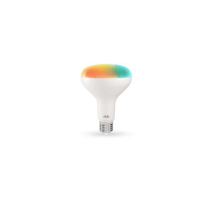 White Smart BR30 RGB LED Light Bulb