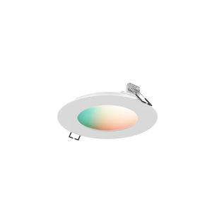 White RGB Recessed LED Panel light