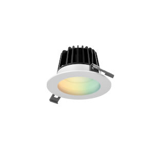 White RGB LED Recessed Light