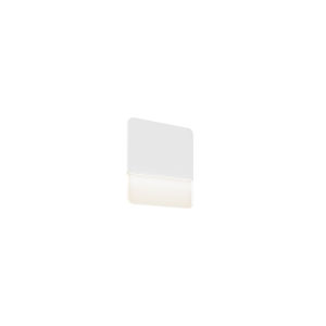 White 11-Inch LED Wall Sconce