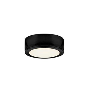 PowerLED Black LED Under Cabinet Puck Light