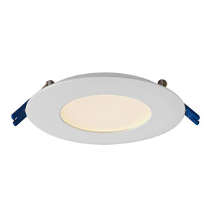 Pro Series Satin Nickel 6W Energy Star LED Round Panel Light