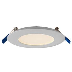 Pro Series Satin Nickel 9W 3000K Energy Star LED Round Panel Light