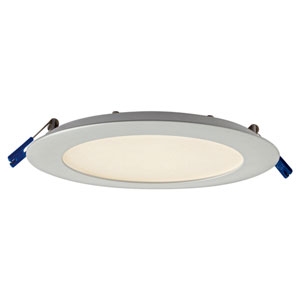 Pro Series Satin Nickel 12W 3000K Energy Star LED Round Panel Light