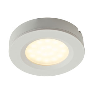 White 1.4W 2-in-1 LED Puck Kit of 3