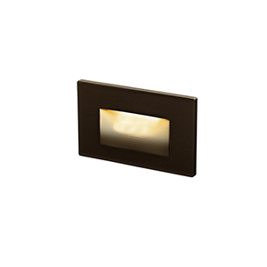 Bronze LED Outdoor Step Light
