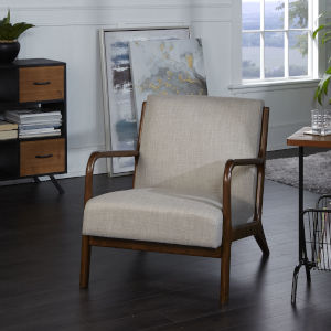 Remy Tan Upholstered Accent Chair