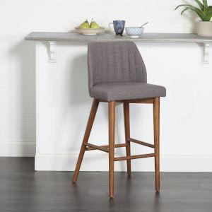 Genesis Brown 18-Inch Barstool