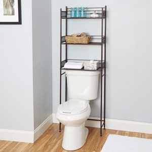 Magnolia Bathroom Collection Space Saver, Oil Rubbed Bronze