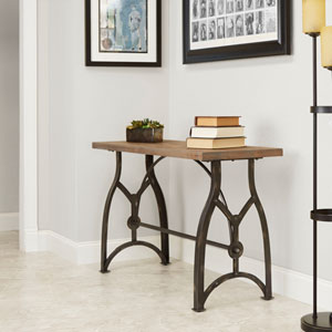 Liam Industrial Collection Console Table