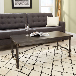 Olivia Industrial Collection Coffee Table