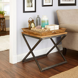 Mason Industrial Collection End Table