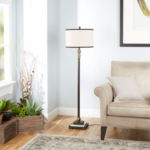 Olivia Floor Lamp with Shade