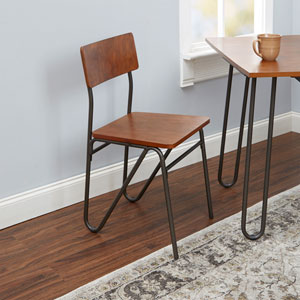 Henry Chair with Hairpin Legs