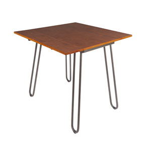 Henry Drop Leaf Table with Hairpin Legs