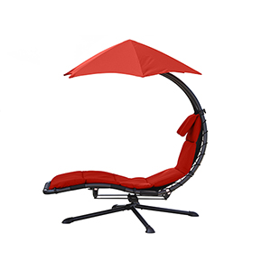 Cherry Red The Original Dream 360 Degree Lounger