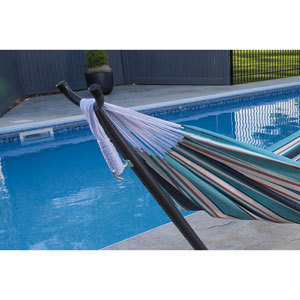 Combo - Sunbrella® Token Surfside Hammock with Stand (9ft)