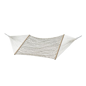 Cotton Rope Hammock - Double (Natural)