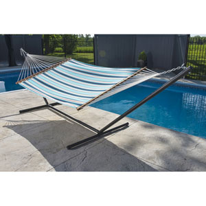 Sunbrella Quilted Hammock - Double (Token Surfside)
