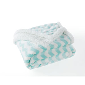 Fifi Sherpa Seafoam Throw