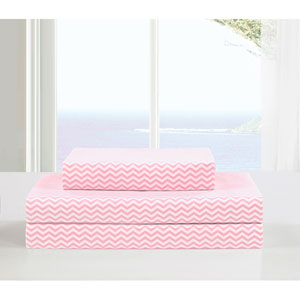 Fifi Full Pretty Pink Four-Piece Sheet Set