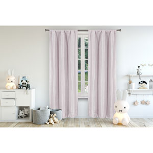 Miranda Lavender 84 x 37 In. Blackout Curtain Panel Pair