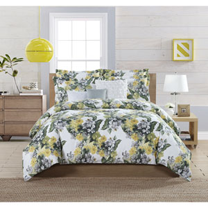 Aria Multicolor Queen Six-Piece Comforter Set