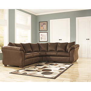 Darcy Sectional in Café