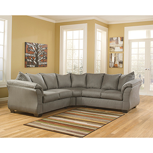 Darcy Sectional in Cobblestone