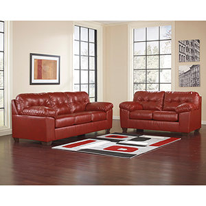 Alliston Living Room Set in Salsa