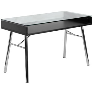 Bretford Desk with Tempered Glass Top