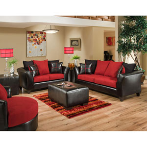 Cardinal Microfiber Living Room Set